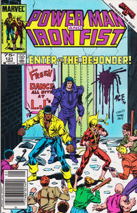 Cover for Power Man and Iron Fist (Marvel, 1981 series) #121 [newsstand]