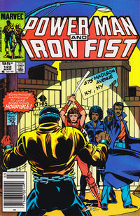 Cover Thumbnail for Power Man and Iron Fist (Marvel, 1981 series) #122 [Canadian newsstand edition]