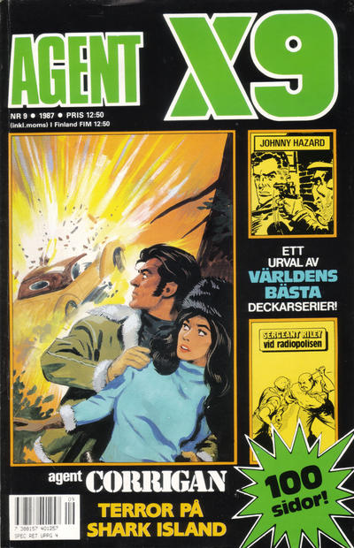 Cover for Agent X9 (Semic, 1971 series) #9/1987