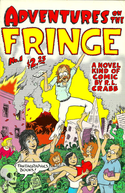 Cover for Adventures on the Fringe (Fantagraphics, 1992 series) #1