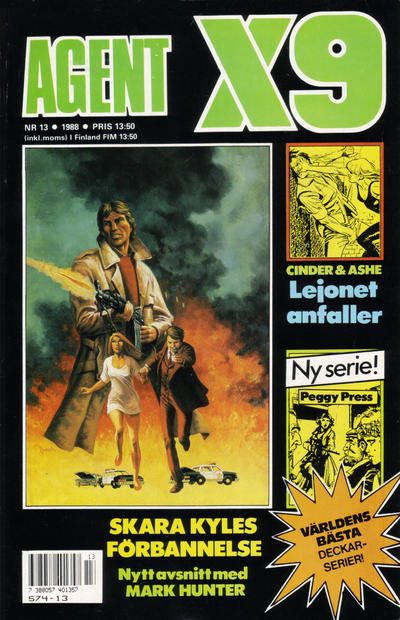 Cover for Agent X9 (Semic, 1971 series) #13/1988