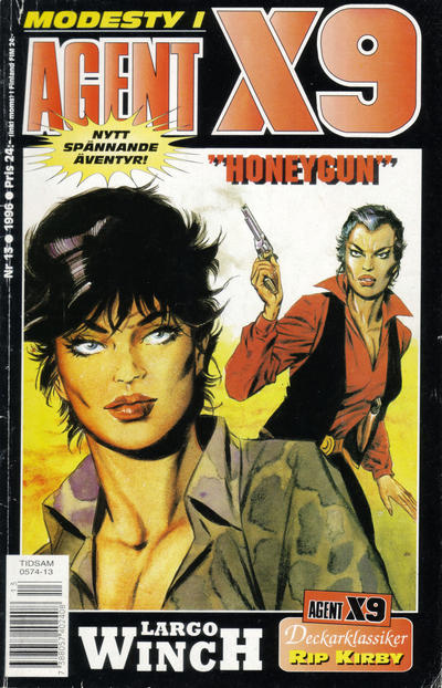 Cover for Agent X9 (Semic, 1971 series) #13/1996