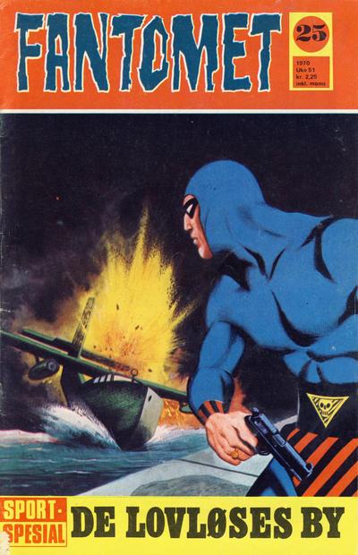 Cover for Fantomet (Romanforlaget, 1966 series) #25/1970
