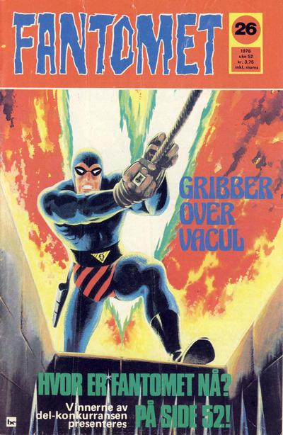 Cover for Fantomet (Semic, 1976 series) #26/1976