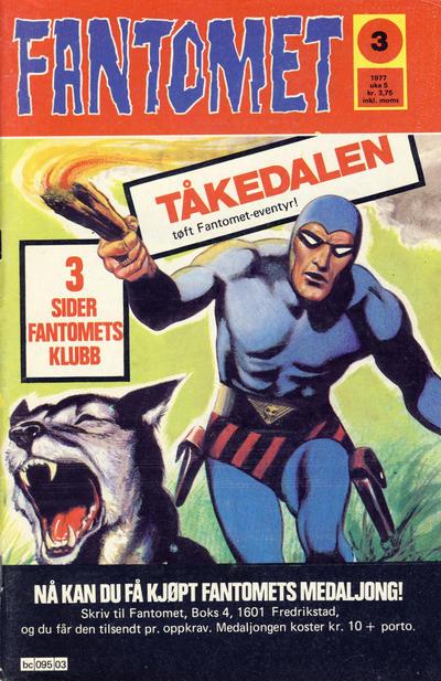 Cover for Fantomet (Semic, 1976 series) #3/1977