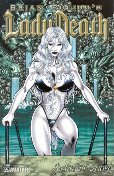 Cover for Brian Pulido's Lady Death: Swimsuit (Avatar Press, 2005 series) #2005