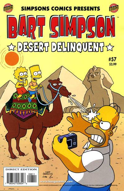 Cover for Simpsons Comics Presents Bart Simpson (Bongo, 2000 series) #57