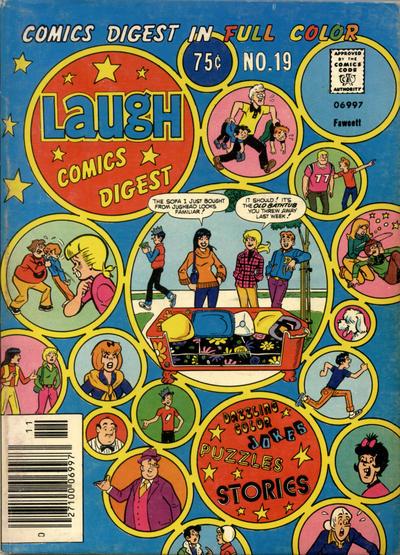 Cover for Laugh Comics Digest (Archie, 1974 series) #19