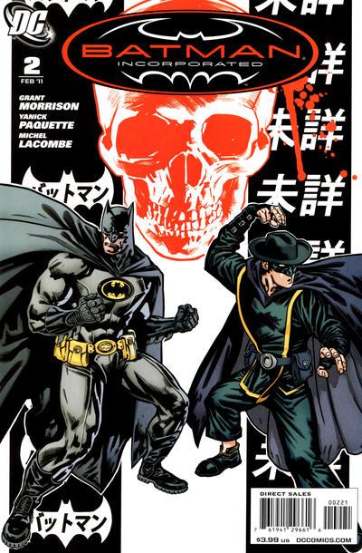 Cover for Batman, Inc. (DC, 2011 series) #2