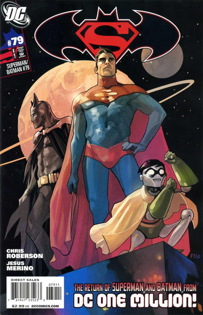 Cover for Superman / Batman (DC, 2003 series) #79