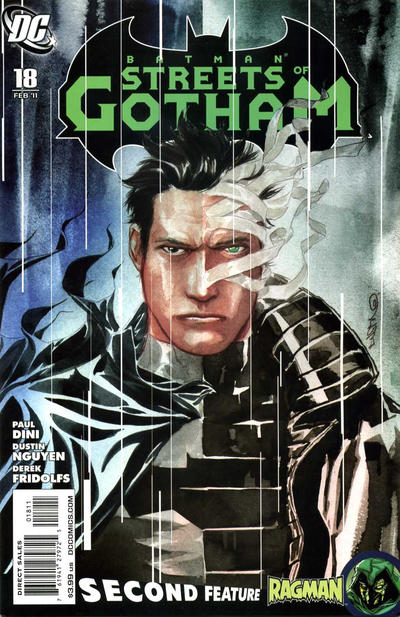 Cover for Batman: Streets of Gotham (DC, 2009 series) #18