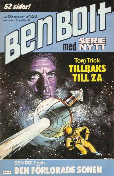 Cover for Serie-nytt [delas?] (Semic, 1970 series) #18/1980