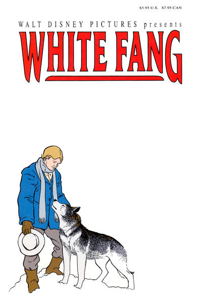 Cover for White Fang (Disney, 1991 series)