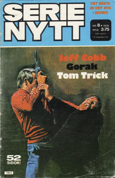 Cover for Serie-nytt [delas?] (Semic, 1970 series) #8/1978
