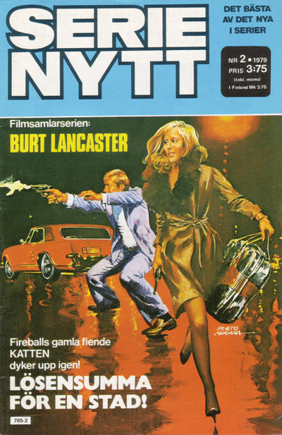 Cover for Serie-nytt [delas?] (Semic, 1970 series) #2/1979