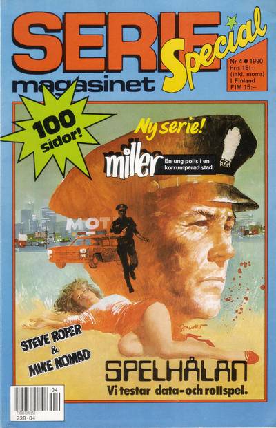 Cover for Seriemagasinet (Semic, 1970 series) #4/1990