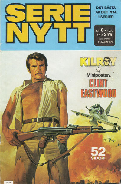 Cover for Serie-nytt [delas?] (Semic, 1970 series) #8/1979