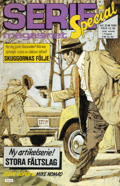 Cover for Seriemagasinet (Semic, 1970 series) #25/1986