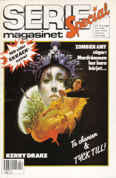 Cover for Seriemagasinet (Semic, 1970 series) #14/1990