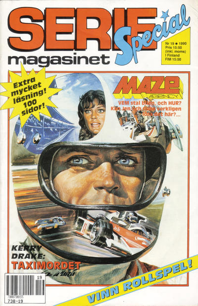 Cover for Seriemagasinet (Semic, 1970 series) #19/1990
