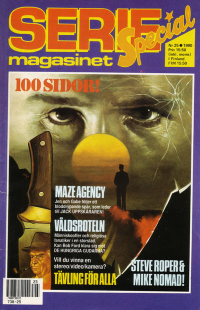 Cover for Seriemagasinet (Semic, 1970 series) #25/1990
