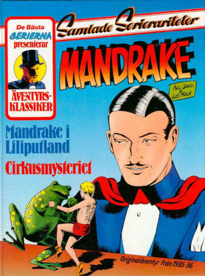 Cover for De bästa serierna (Semic, 1986 series) #1987, Mandrake [2]