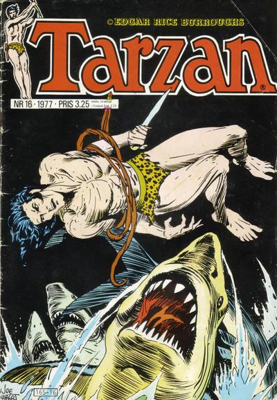 Cover for Tarzan (Atlantic Förlags AB, 1977 series) #16/1977