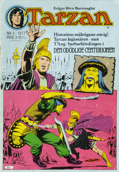 Cover for Tarzan (Atlantic Förlags AB, 1977 series) #5/1977