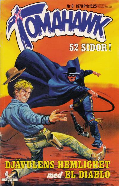 Cover for Tomahawk (Semic, 1976 series) #8/1979