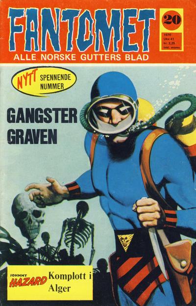 Cover for Fantomet (Romanforlaget, 1966 series) #20/1970
