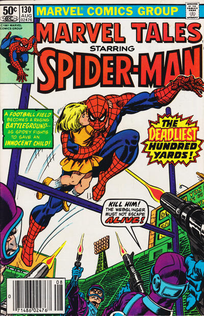 Cover for Marvel Tales (Marvel, 1966 series) #130 [Direct Edition]