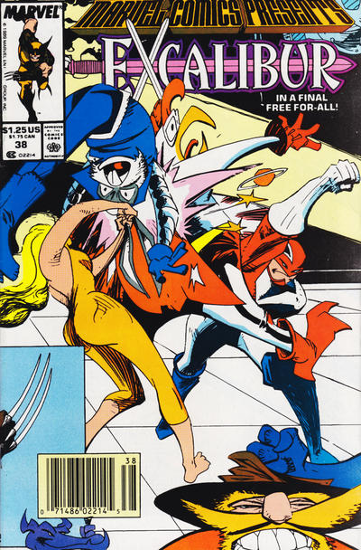Cover for Marvel Comics Presents (Marvel, 1988 series) #38 [Direct Edition]