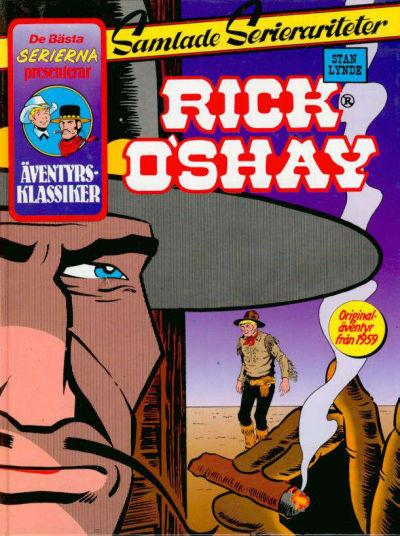 Cover for De bästa serierna (Semic, 1986 series) #1986, Rick O'Shay [2]