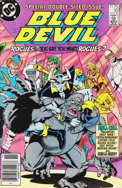 Cover for Blue Devil (DC, 1984 series) #30 [Direct]