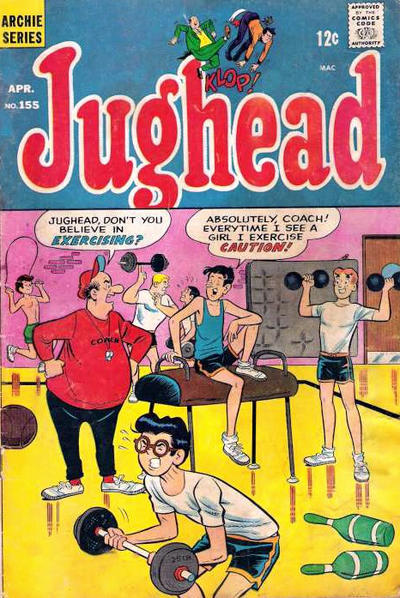 Cover for Jughead (Archie, 1965 series) #155