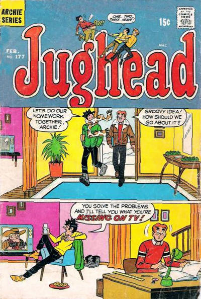 Cover for Jughead (Archie, 1965 series) #177