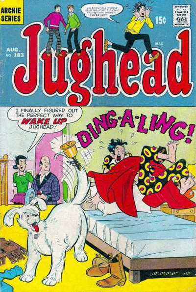 Cover for Jughead (Archie, 1965 series) #183