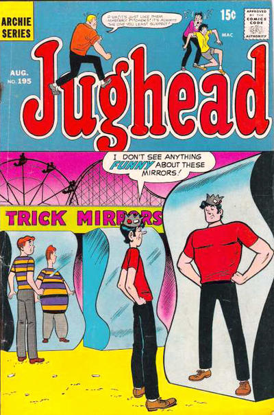 Cover for Jughead (Archie, 1965 series) #195