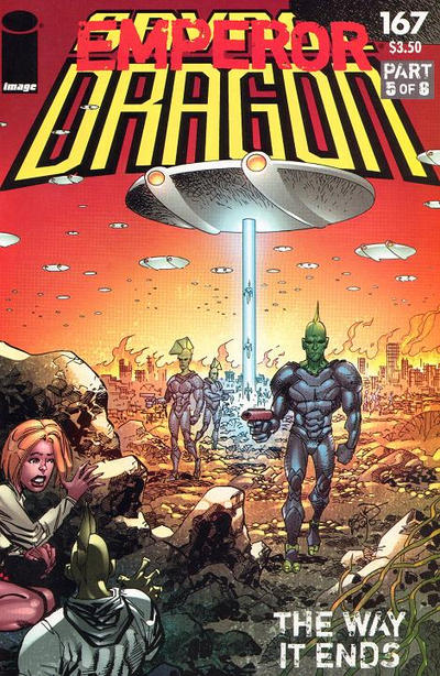 Cover for Savage Dragon (Image, 1993 series) #167