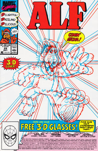 Cover for ALF (Marvel, 1988 series) #29