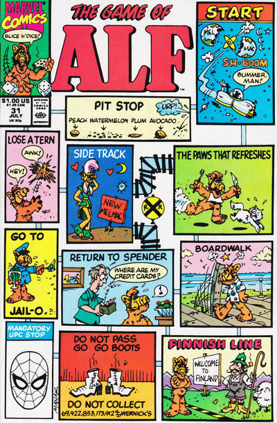 Cover for ALF (Marvel, 1988 series) #31