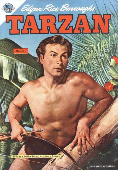 Cover for Tarzán (Editorial Novaro, 1951 series) #18