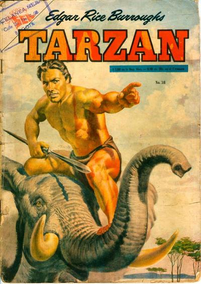 Cover for Tarzán (Editorial Novaro, 1951 series) #38