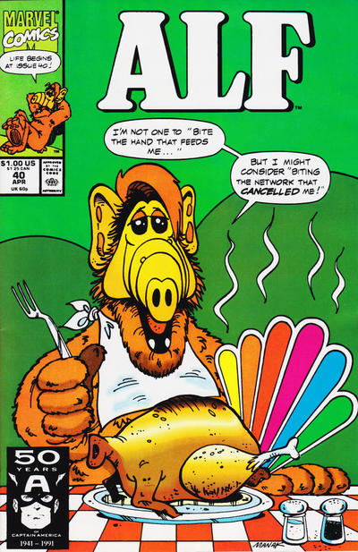 Cover for ALF (Marvel, 1988 series) #40