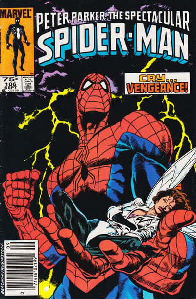 Cover for The Spectacular Spider-Man (Marvel, 1976 series) #106 [newsstand]