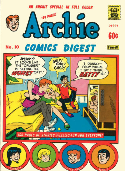 Cover for Archie Comics Digest (Archie, 1973 series) #10