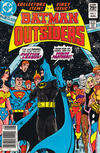 Cover for Batman and the Outsiders (DC, 1983 series) #1 [Canadian]