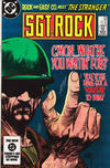 Cover for Sgt. Rock (DC, 1977 series) #390 [direct-sales]
