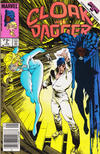 Cover for Cloak and Dagger (Marvel, 1985 series) #4 [Canadian Newsstand]