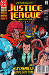 Cover for Justice League America (DC, 1989 series) #57 [Newsstand]